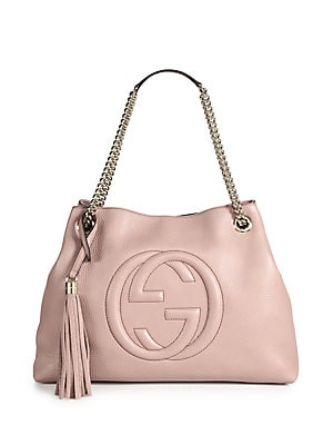 2a7c49d62a7 Gucci - Soho Medium Leather Shoulder Bag - saks.com