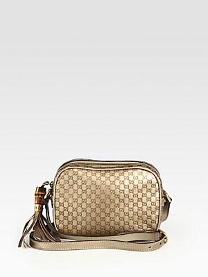 82f4774a07b Gucci - Sunshine Metallic Microguccissima Disco Bag - saks.com