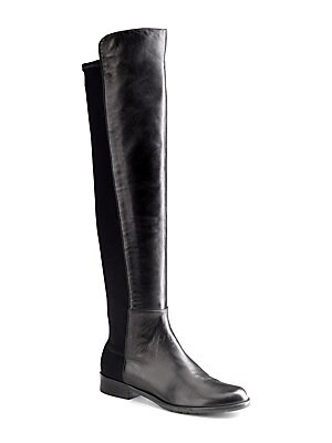 6597b34cab4 Stuart Weitzman - 5050 Leather Over-The-Knee Boots - saks.com