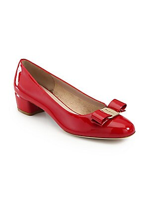 4b7ba405a227 Salvatore Ferragamo - Vara Patent Leather Pumps