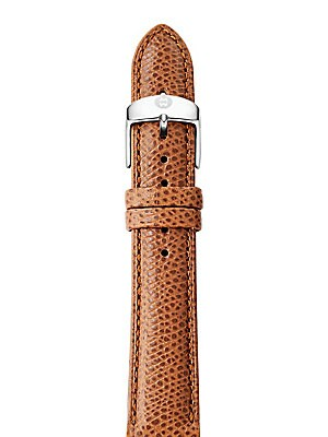 bfa361b06a855 Michele Watches - Saddle Leather Watch Strap 16MM - saks.com