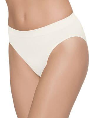 Bsmooth High-Cut Bikini Briefs, White