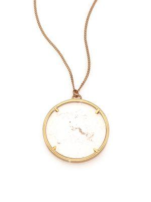 Rock Crystal Pendant Necklace