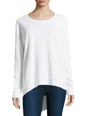 Twisted Cotton Pullover by Wilt