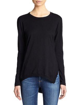 Wilt Asymmetrical Cotton Tunic