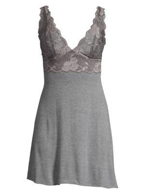 Zen Floral Lace Chemise plus size,  plus size fashion plus size appare