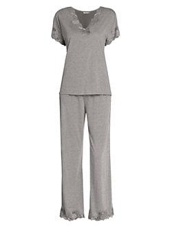 7a4e2ba27e QUICK VIEW. Natori. Zen Floral Jersey Pajamas