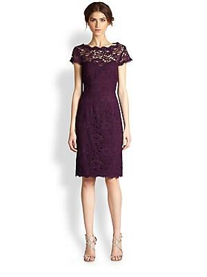 9805b1397ed3b ML Monique Lhuillier - Lace Dress - saks.com