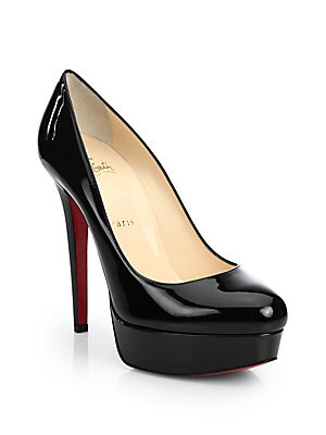 low priced d0c6b 04266 Christian Louboutin - Bianca Patent Leather Platform Pump ...