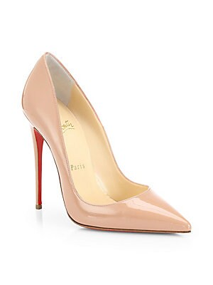 aabceaea2344 Christian Louboutin - Pigalle 100 Patent Leather Platform Pumps ...