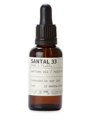 Santal 33 Perfume Oil/1oz. by Le Labo