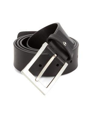 b60599efc7b1 Saint Laurent - YSL Leather Belt - saks.com