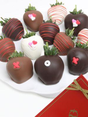 XOX Chocolate-Covered Strawberries