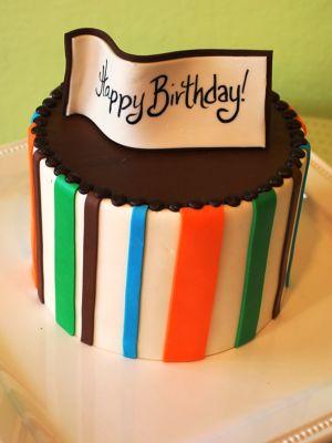 Triple-Chocolate Birthday Cheesecake