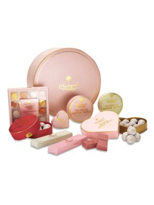 Charbonnel Et Walker Pink Hamper Chocolate Assortment