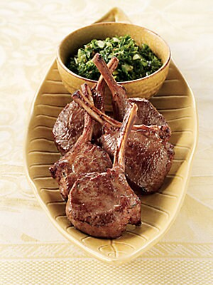 Image of Australian single-bone, lollipop-style lamb chops are incredibly tender, perfect for a quickly sautéed or grilled appetizer. Includes: 24 chops Each, approx. 1.5 oz. Shelf life: 9 months frozen Serves 10 to 15 Made in Australia SPECIAL PROCESSING & DELIVE