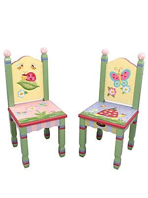 Teamson   Two Piece Magic Garden Chairs