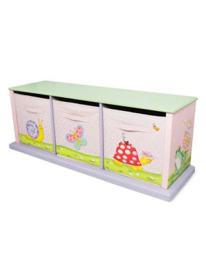 Teamson Magic Garden Storage Cubby Unit