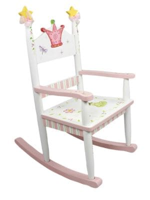 Teamson Princess Frog Rocking Chair