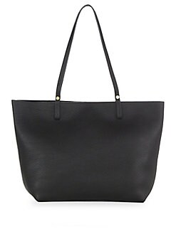 94ac0db68dbe Tori Leather Travel Tote BLACK. QUICK VIEW. Product image