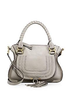 b3aa151dd1d93 QUICK VIEW. Chloé. Marcie Large Leather Satchel