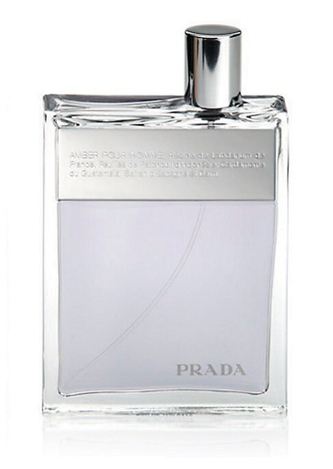 Image of Introducing the first men's fragrance from Prada. With its natural yet seductive charm, Prada makes and leaves a lasting impression. A rich, complex amber intermingles with the clean, fresh scent of barber's soap and continues to evolve between olfactory