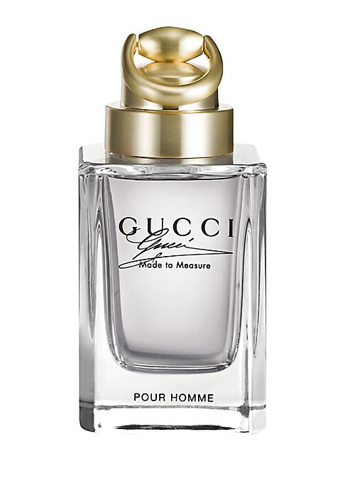 Image of The Gucci Made to Measure fragrance is intensely masculine, created for the man who demands the very best, a man whom others aspire to be. It's inspired by the Gucci Made to Measure suit, specially crafted with the Gucci philosophy of attention to detail.