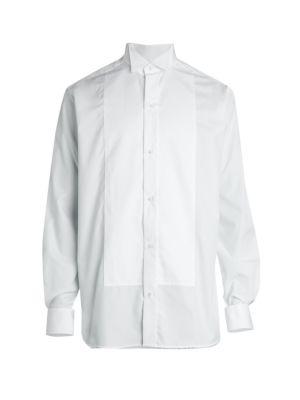 Eton Contemporary Fit Wing Collar Bib Front Formal Shirt