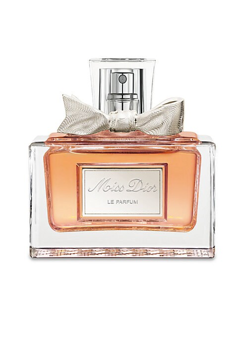 Image of Discover a sweetly seductive new fragrance that perfectly dresses up any occasion. Intense, sensual and sophisticated, Miss Dior Le Parfum features a warm blend of Italian Mandarin essence and Damascena rose absolute, underscored by elegant Indonesian amb