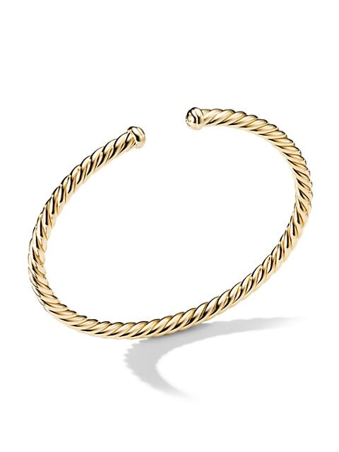 Precious Cable Petite Bracelet in 18K Yellow Gold