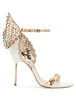 090011161 Sophia Webster - Evangeline Winged Leather Sandals - saks.com