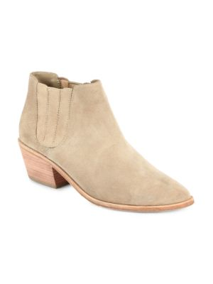 Barlow Suede Ankle Boots