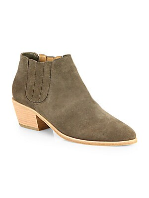 aa55b0079 Sam Edelman - Petty Low-Cut Suede Ankle Boots - saks.com