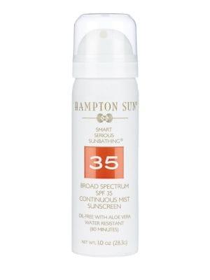 HAMPTON SUN Continuous Mist Sunscreen Spf 35 /1 Oz.