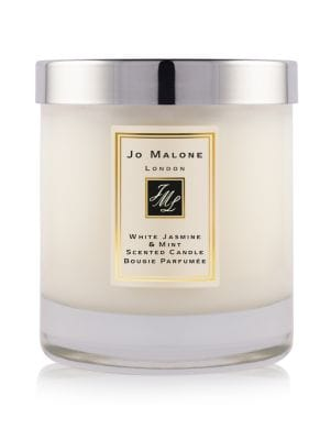 White Jasmine and Mint Home Candle / 7 oz.