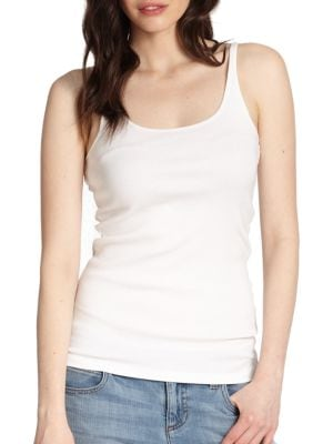 System Organic Cotton Tank Top by Eileen Fisher
