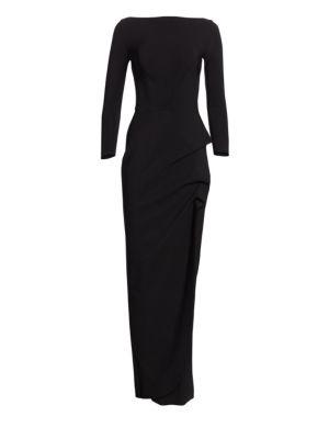 Cassandre Boatneck Gown plus size,  plus size fashion plus size appare
