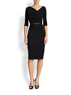 5c9fdb8653e0 Black Halo - Jackie O Three-Quarter Sleeve Dress