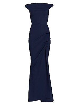 3cf63f0a0584 Chiara Boni La Petite Robe - Melania Off-The-Shoulder Gown - saks.com