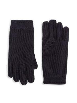 Winter Gloves Girls Boys Warm Knitted Gloves Fleece Lined Full Finger Gloves NB