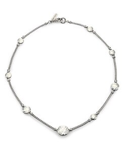 Chic Gray Blue Brown White Crystal Collar Choker Necklace Party Evening Jewelry