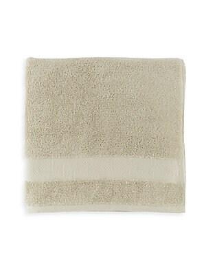 SFERRA Bello Wash Cloth  White