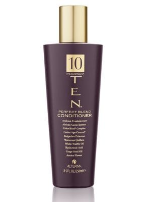 Image of A nourishing paraben-free conditioner. Transforms hair from ordinary to extraordinary with the perfect fusion of ten key elements, including Arabian Frankincense that helps smooth and strengthen the cuticle. Leaves strands shiny and silky for hair that lo