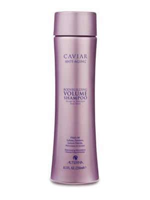Image of A daily sulfate free volumizing cleanser that provides essential amino acids to help thicken your hair's structure and retain weightless moisture while protecting color and improving the overall appearance of fine, brittle hair. 8.5 oz.