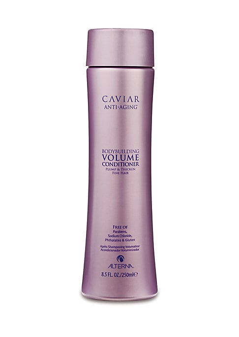 Image of Caviar Volume Conditioner is a daily paraben-free volumizing conditioner amplifies your hair's ability to achieve lasting fullness, thickness and lift for exceptional volume without sacrificing moisture. Bring brittle, fine hair back to life, while protec