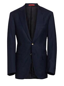 9cf24cedc3f QUICK VIEW. Isaia. Basic Wool Blazer