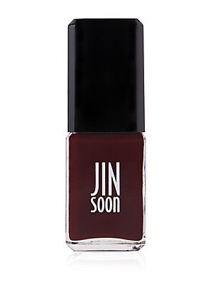 "Image of A deep wine that's provocative and elegant. ""I've used this color on numerous couture campaigns and editorial shoots since it's so dramatic,"" says Jin. Not tested on animals. 0.37 oz. Made in USA. Cosmetics - Treatment Brand. JINsoon. Color: Audacity."