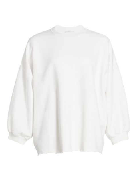 Rachel Comey Fond Puff-Sleeve Sweatshirt | SaksFifthAvenue
