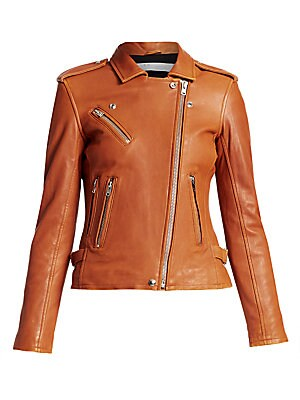 a7997d1afa IRO - Han Leather Moto Jacket - saks.com