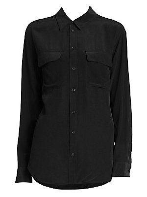 d399ce08e063d Equipment - Signature Silk Shirt - saks.com